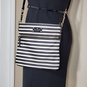 Kate Spade Nylon Stripe Ellen Cross Body